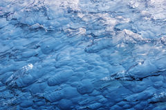 Macro dell'iceberg Immagine Stock