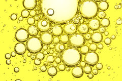 Macro dell'olio d'oliva Immagine Stock