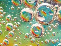 Macro della bolla Fotografia Stock Libera da Diritti