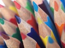 Macro della matita fotografia stock