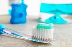 Macro della spazzola Immagini Stock Libere da Diritti