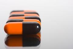 Macro delle pillole Immagine Stock Libera da Diritti