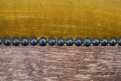 Macro des meubles antiques - détail de meubles de vintage Photo libre de droits