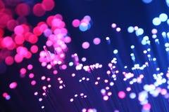 Macro detail of color fiber purple Stock Image