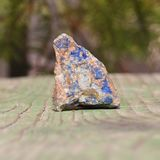 Azurite. Macro detail of mineral Azurite Royalty Free Stock Image