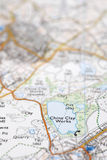 Macro Detail of OS Map Stock Photos