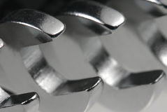 Macro detail from spanners. Stock Images