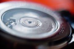 Macro detail of swiss made male luxury watch mechanism Stock Photo