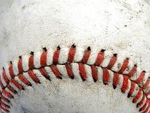Macro di baseball Fotografie Stock Libere da Diritti