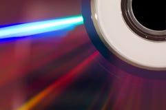 Macro di DVD Fotografia Stock Libera da Diritti