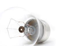 Macro di highkey della lampadina Fotografie Stock Libere da Diritti