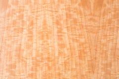 Macro di impiallacciatura di legno Fotografie Stock