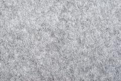 Macro di struttura del feltro di grey fotografia stock