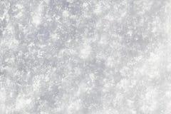 Macro di struttura della neve Fotografia Stock Libera da Diritti
