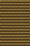 Macro di un oro scuro o di una superficie metallica bronzea immagini stock libere da diritti
