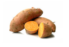 Batatas doces Fotos de Stock