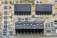Macro do interruptor de mergulho fotografia de stock
