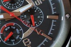 Macro do relógio Imagem de Stock