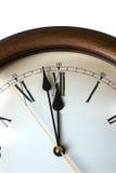 Macro do relógio antigo Fotos de Stock Royalty Free
