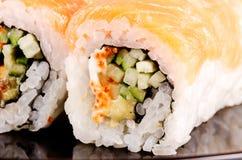 Macro do sushi Imagem de Stock