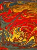 Pigmentos coloridos Imagem de Stock