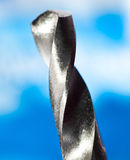 Macro of drill bits Royalty Free Stock Images