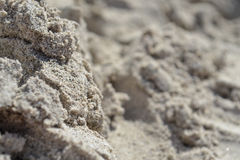 Macro du sable dans mamie Canaria image stock
