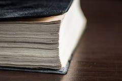 Macro el libro Imágenes de archivo libres de regalías