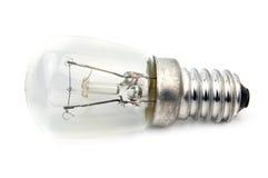 Macro of electric bulb Stock Photo