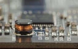 Macro electronic Stock Photos