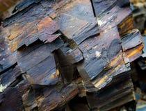 Macro Elementenrots, textuur van steen De bergen van de Kaukasus Royalty-vrije Stock Afbeelding