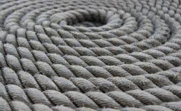 Macro en espiral de la cuerda Fotos de archivo