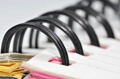 Macro espiral Fotografia de Stock