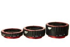 Macro extender lens Stock Images
