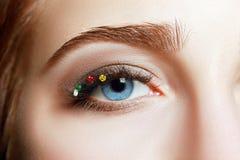 Macro eye Stock Photography