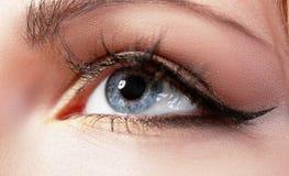 Macro eye Royalty Free Stock Photos
