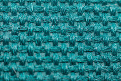 Macro of fabric weave texture surface Royalty Free Stock Image