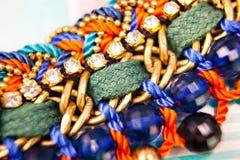 Macro fait main de bijoux Images stock