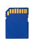Macro of flash card Stock Photo