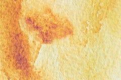 Macro fond de texture d'aquarelle abstraite Fond peint à la main d'aquarelle Image stock