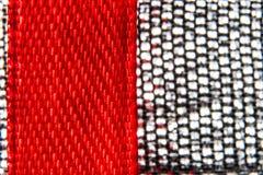 Macro fond de tissu de service et en métal Photo libre de droits