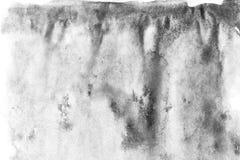 Macro fondo di struttura dell'acquerello astratto nero Contesto astratto di gradazione di grigio di struttura dell'acquerello royalty illustrazione gratis