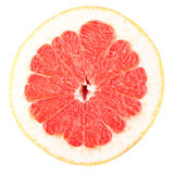 Macro food collection - Grapefruit slice Royalty Free Stock Images