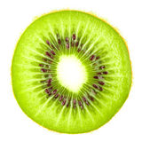 Macro food collection - Kiwi slice Royalty Free Stock Photography