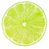 Macro food collection - Lime slice Stock Photo