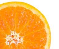 Macro food collection - Orange slice Royalty Free Stock Photos