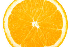 Macro food collection - Orange slice Royalty Free Stock Images