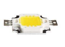Macro foto della PANNOCCHIA Chip On Board LED Fotografie Stock