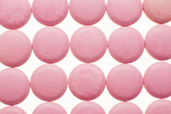Macro fotografia delle pillole medicinali variopinte Fotografia Stock Libera da Diritti