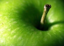 Macro fresca del Apple Fotografia Stock Libera da Diritti